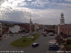 view from 13 East Market Street - Lewistown PA (west) on 2018-10-31