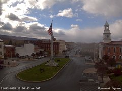 view from 13 East Market Street - Lewistown PA (west) on 2018-11-03