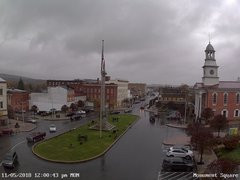 view from 13 East Market Street - Lewistown PA (west) on 2018-11-05