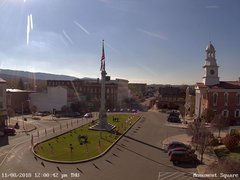 view from 13 East Market Street - Lewistown PA (west) on 2018-11-08