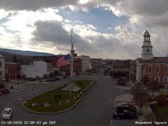 view from 13 East Market Street - Lewistown PA (west) on 2018-11-10
