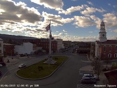 view from 13 East Market Street - Lewistown PA (west) on 2019-01-06
