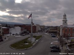 view from 13 East Market Street - Lewistown PA (west) on 2019-01-15