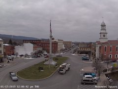 view from 13 East Market Street - Lewistown PA (west) on 2019-01-17
