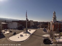 view from 13 East Market Street - Lewistown PA (west) on 2019-01-28