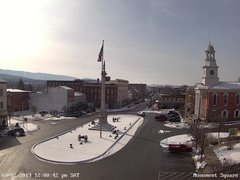 view from 13 East Market Street - Lewistown PA (west) on 2019-02-02