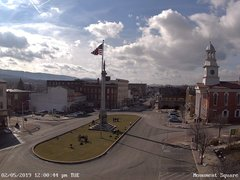 view from 13 East Market Street - Lewistown PA (west) on 2019-02-05