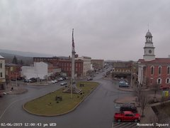 view from 13 East Market Street - Lewistown PA (west) on 2019-02-06