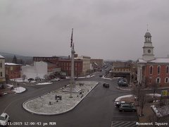 view from 13 East Market Street - Lewistown PA (west) on 2019-02-11