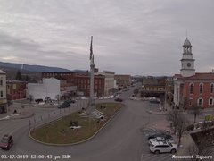 view from 13 East Market Street - Lewistown PA (west) on 2019-02-17