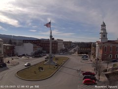 view from 13 East Market Street - Lewistown PA (west) on 2019-02-19