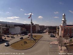 view from 13 East Market Street - Lewistown PA (west) on 2019-03-12