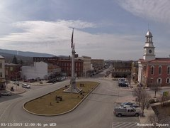 view from 13 East Market Street - Lewistown PA (west) on 2019-03-13