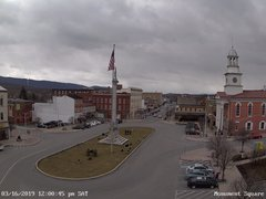 view from 13 East Market Street - Lewistown PA (west) on 2019-03-16