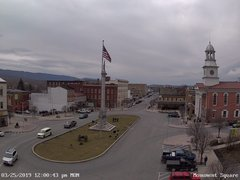 view from 13 East Market Street - Lewistown PA (west) on 2019-03-25