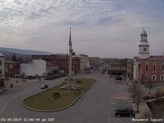 view from 13 East Market Street - Lewistown PA (west) on 2019-03-30