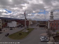 view from 13 East Market Street - Lewistown PA (west) on 2019-03-31
