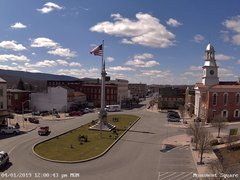 view from 13 East Market Street - Lewistown PA (west) on 2019-04-01