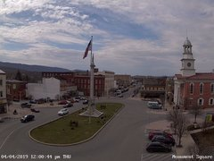 view from 13 East Market Street - Lewistown PA (west) on 2019-04-04