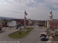 view from 13 East Market Street - Lewistown PA (west) on 2019-04-07