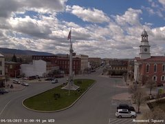 view from 13 East Market Street - Lewistown PA (west) on 2019-04-10