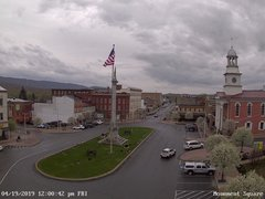 view from 13 East Market Street - Lewistown PA (west) on 2019-04-19