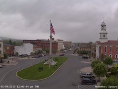 view from 13 East Market Street - Lewistown PA (west) on 2019-05-09