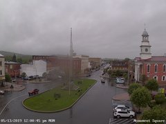 view from 13 East Market Street - Lewistown PA (west) on 2019-05-13