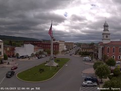view from 13 East Market Street - Lewistown PA (west) on 2019-05-14
