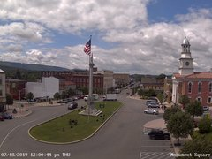 view from 13 East Market Street - Lewistown PA (west) on 2019-07-18