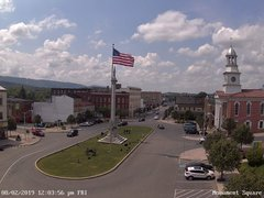 view from 13 East Market Street - Lewistown PA (west) on 2019-08-02