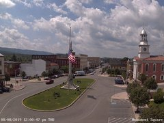 view from 13 East Market Street - Lewistown PA (west) on 2019-08-08