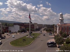 view from 13 East Market Street - Lewistown PA (west) on 2019-08-09