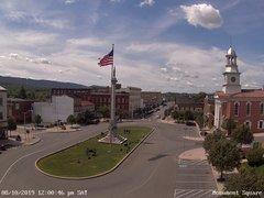 view from 13 East Market Street - Lewistown PA (west) on 2019-08-10