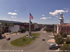 view from 13 East Market Street - Lewistown PA (west) on 2019-08-11