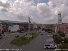 view from 13 East Market Street - Lewistown PA (west) on 2019-08-16