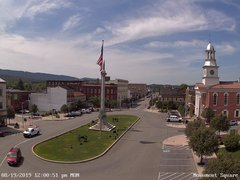 view from 13 East Market Street - Lewistown PA (west) on 2019-08-19