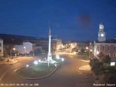 view from 13 East Market Street - Lewistown PA (west) on 2019-08-25
