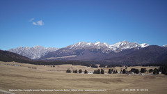 view from Pian Cansiglio - Casera Le Rotte on 2019-03-12
