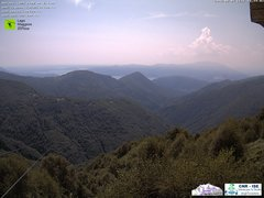 view from Lago Maggiore Zipline on 2018-08-07