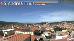 view from Sant'Andrea Frius on 2019-02-25