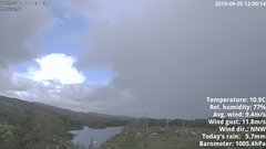 view from 1 Sotra island, W-Norway on 2019-09-05