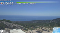 view from Monte Longu on 2020-07-26
