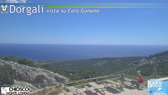 view from Monte Longu on 2020-08-06