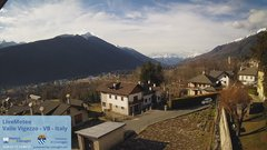 view from Valle Vigezzo on 2020-01-17