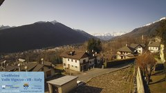 view from Valle Vigezzo on 2020-01-23