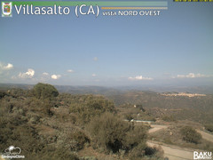 view from Villasalto on 2019-10-28