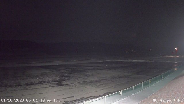 time-lapse frame, Mifflin County Airport (east) webcam
