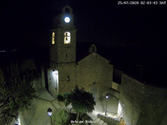 time-lapse frame, Xodos - Ajuntament webcam