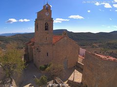 view from Xodos - Ajuntament (Plaça de l'Esglèsia) on 2020-10-26